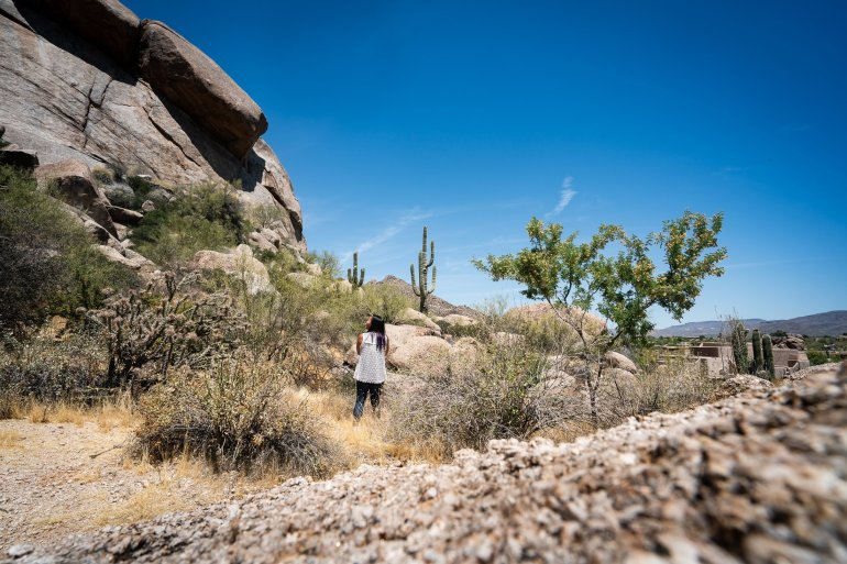 There's no better way to spend a weekend in Scottsdale than by wandering through the desert!