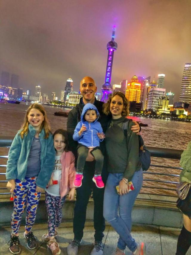 Views from the Bund. Things to do with toddlers in Shanghai.