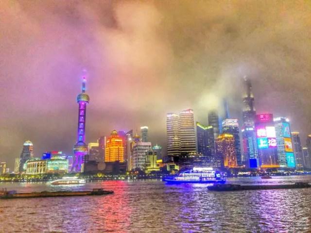 The Bund at Shanghai China