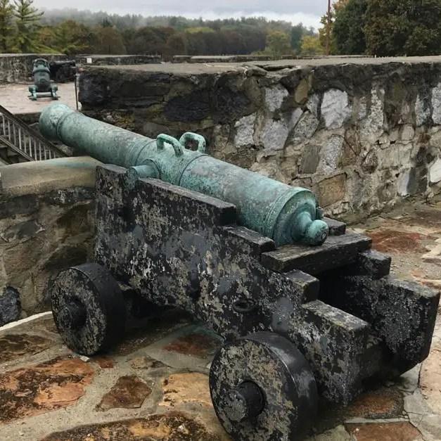 Fort Ticonderoga cannon