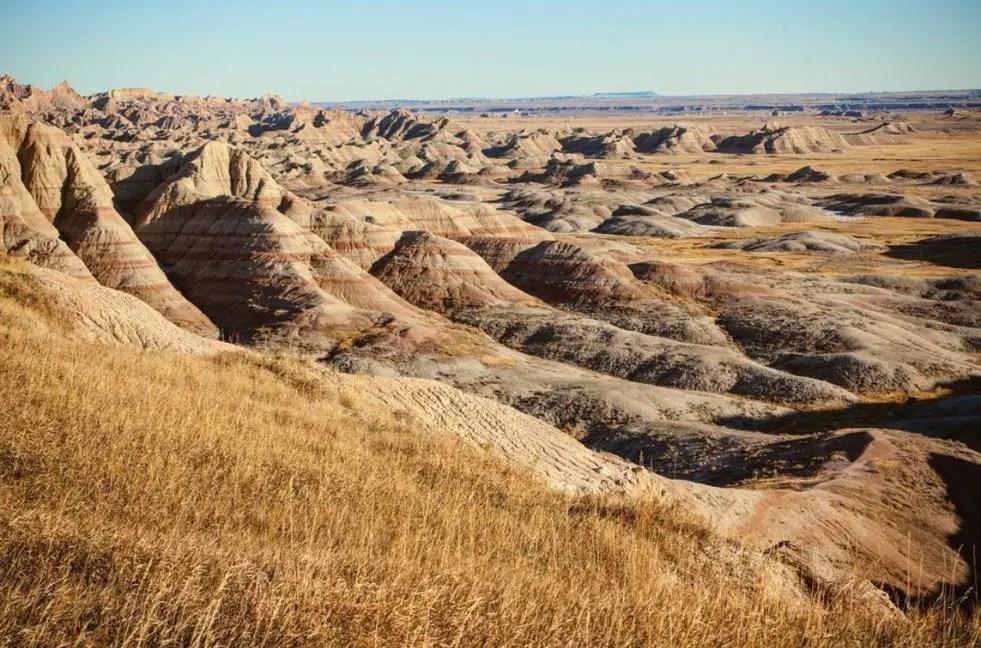 Bad Lands of South Dakota