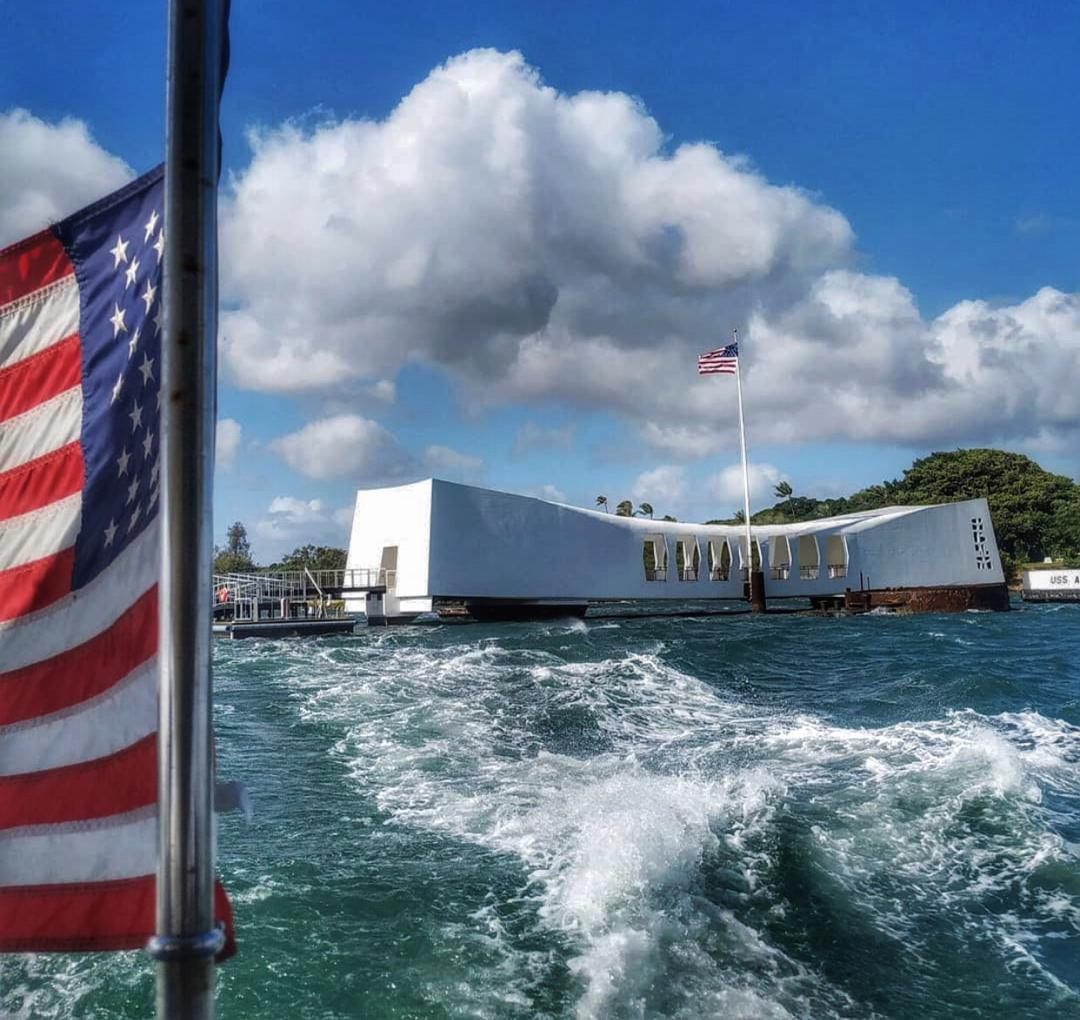 Pearl Harbor. Oahu, Hawaii. Safest places to travel after coronavirus
