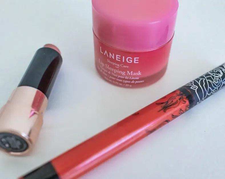 Lipsticks and lip primer