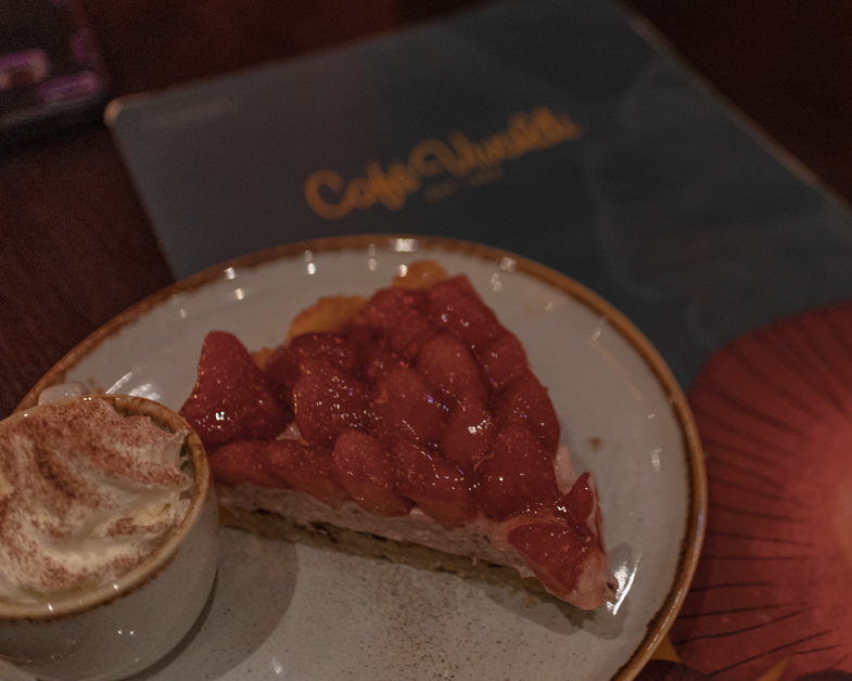 Strawberry pie at Cafe Vivaldi  in Copenhagen.
