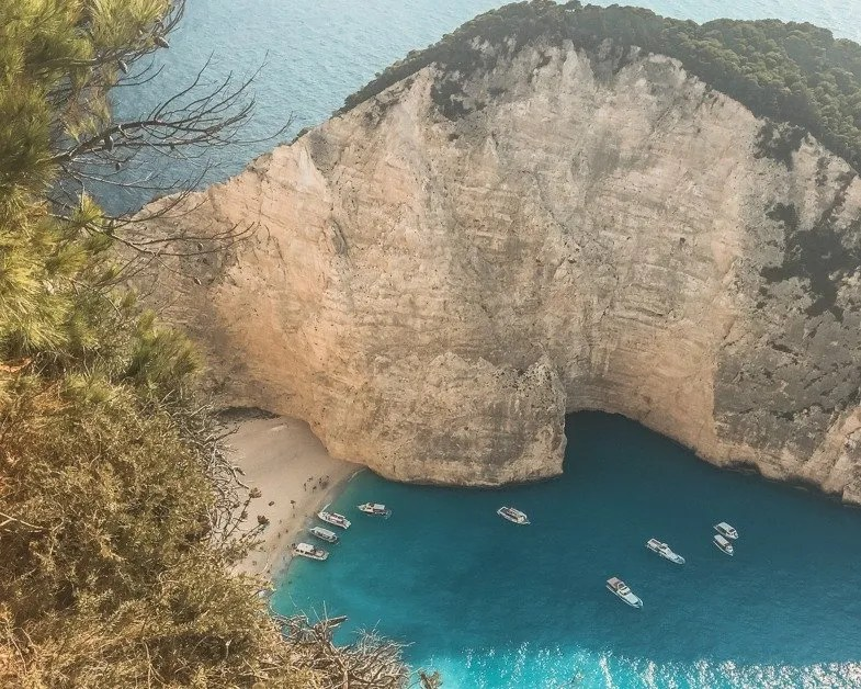Picture of Shipwreck Beach in Zakynthos a topsolo female travel destinations
