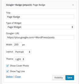 Page-widget