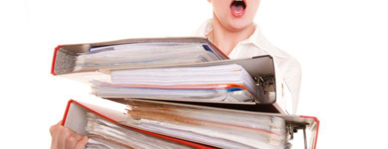 Too many folders
