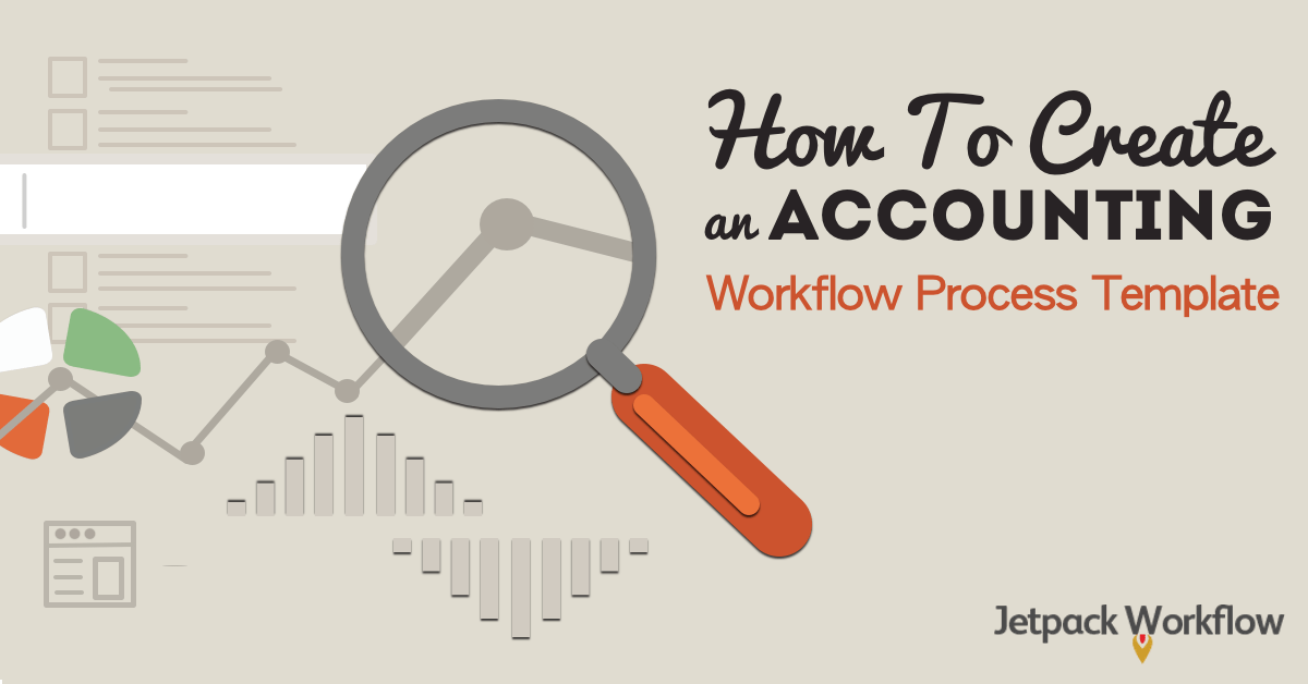 creating an accounting workflow process template
