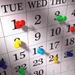 2017 Tax Return Due Dates