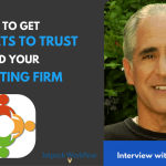 get a prospect to trust you