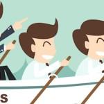 Rowboat teamwork