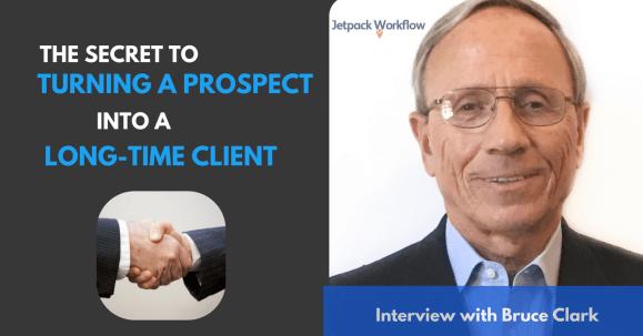 prospect into a long-time client