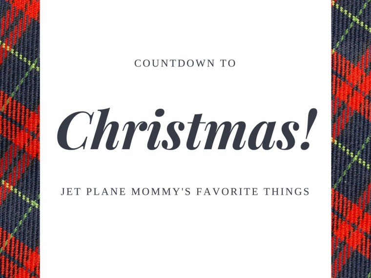 Countdown to Christmas with 1 of 12 of My Favorite Things