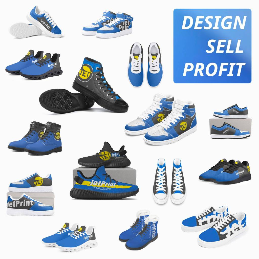 Featured Custom Shoes Display