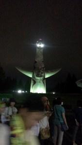 太陽の塔 夜