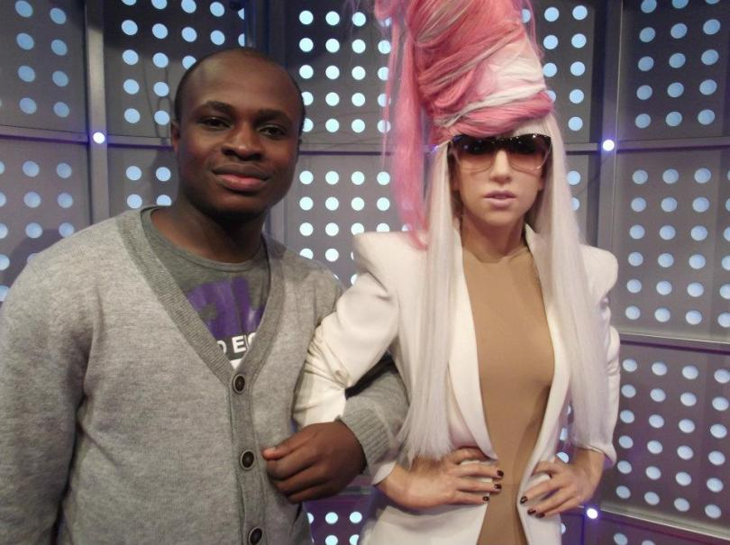 With Lady Gaga