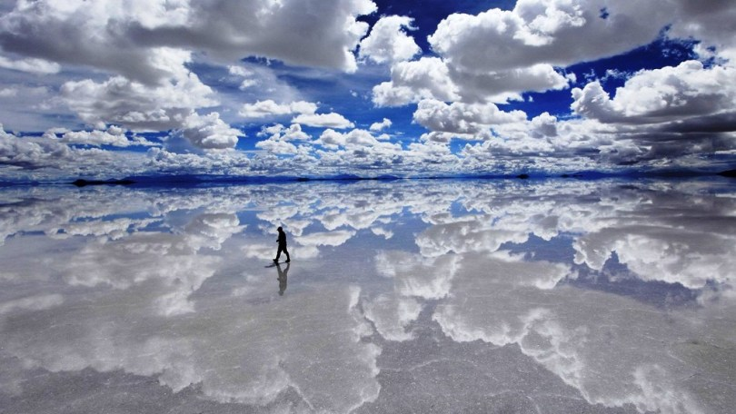 Salar de Uyuni, Bolivia PHOTO CREDIT: Earthporm