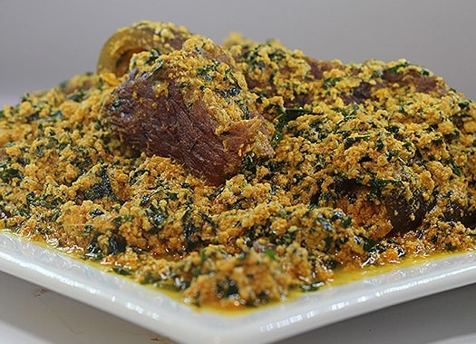 Egusi Soup with beef