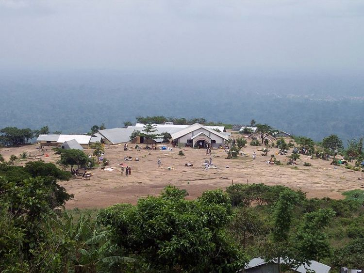 Abasua Prayer Camp at Atwea Mountains PHOTO: See Africa