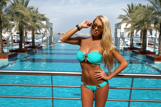Jetset Babes on vacation in chic beach wear
