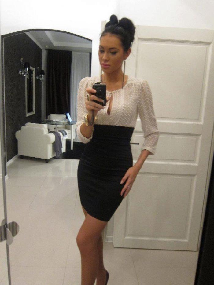 Elegant fashion outfit