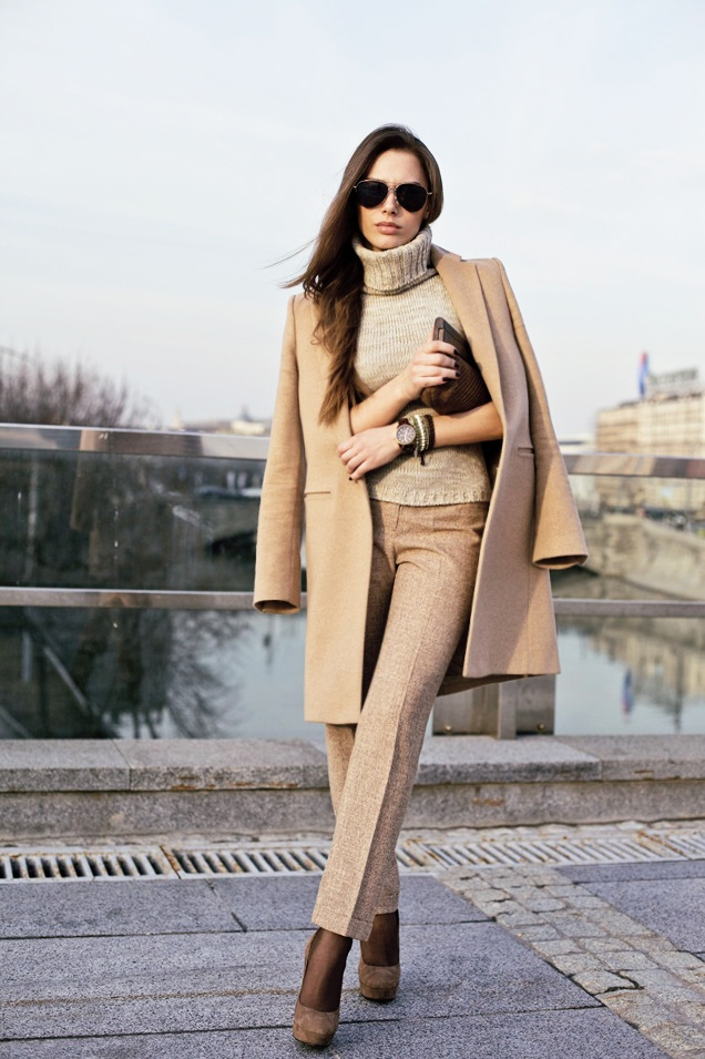 Beige & Nude color fashion outfit