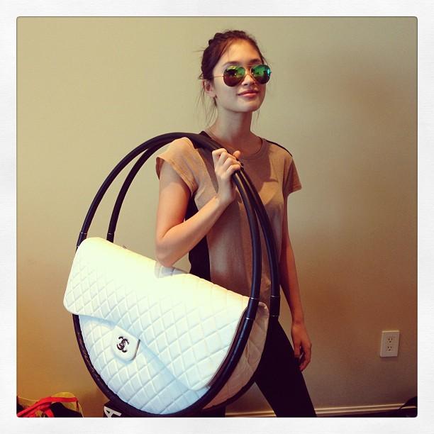 Chanel Hula Hoop Bag