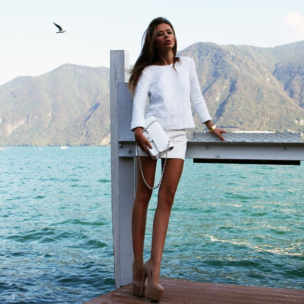 Jetset Babes wearing white clothes