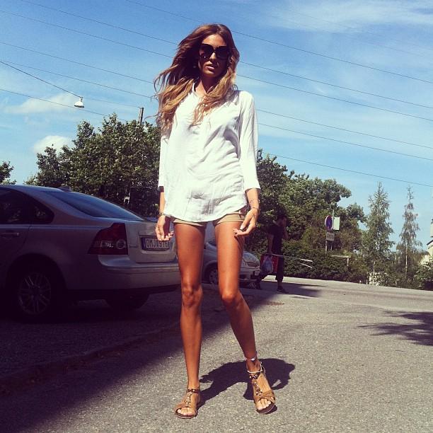 No heels on a sunday