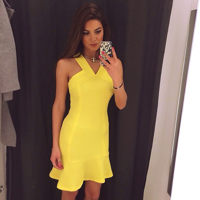 Yellow Fashion Outfits by Jet set Babes