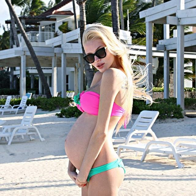 Alena Shishkova Pregnant