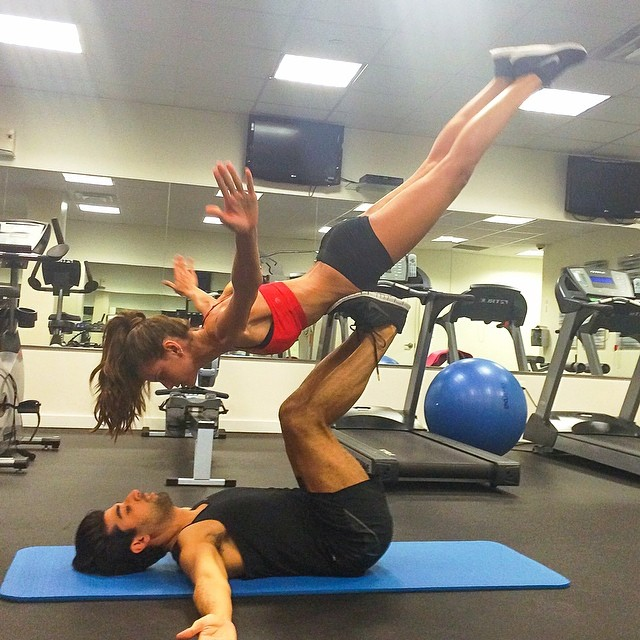 Iza Goulart Work Out