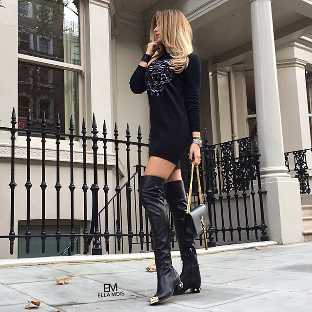 Chanel Over Knee Boots