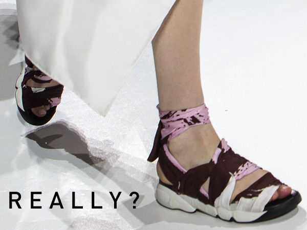 Dior Ugly Shoe Fall 2014
