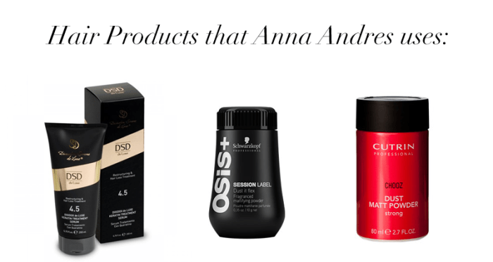Anna Andres Hair Products