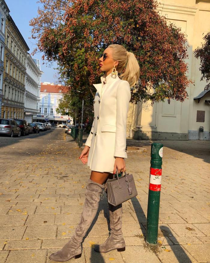 Over the knee boots by Stuart Weitzman