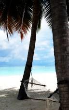 hammock in the sun maldives