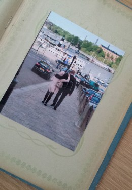 last page of photo album for stockholm