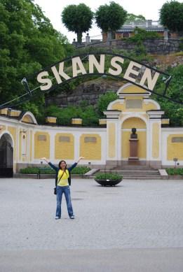 entrance to skansen stockholm
