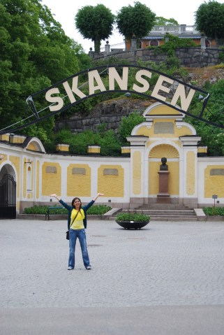 entrance to skansen stockholm