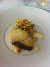fish dish with vegetables