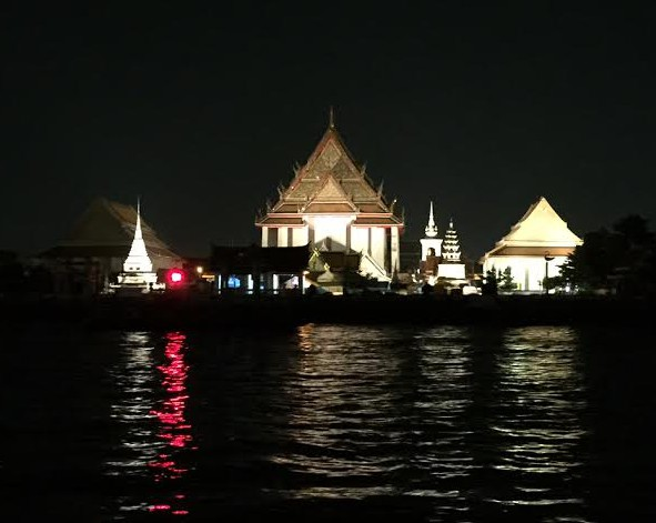 Some of the beautiful sights during the Apsara cruise, Bangkok, Thailand