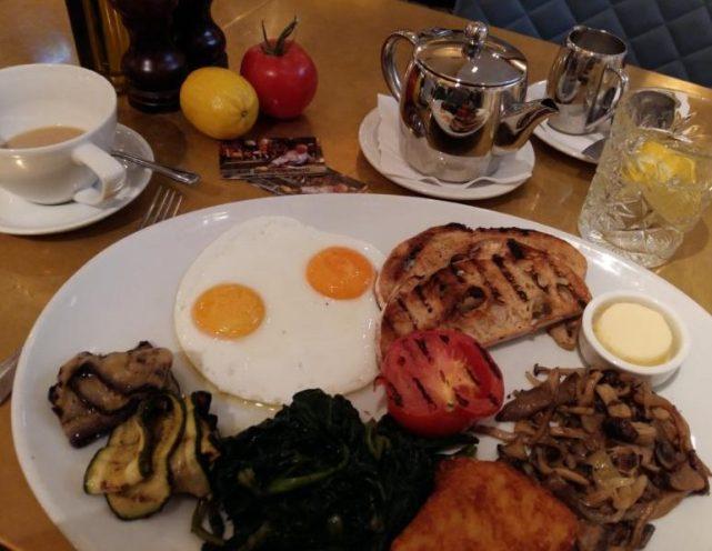 Breakfast at Cicchetti Covent Garden
