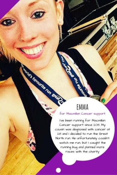 Great Manchester Runner - Emma