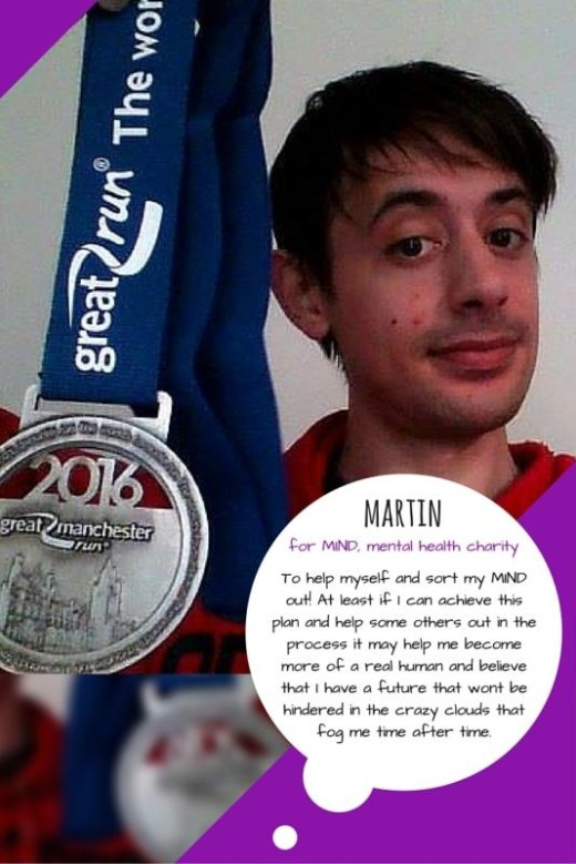 Great Manchester Runner - Martin