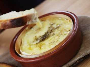 dough manchester camembert cheese and fresh bread