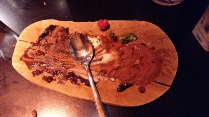 dough manchester empty dessert board