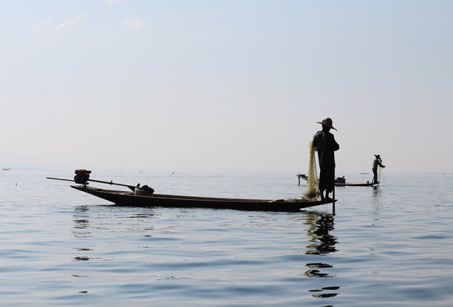 Fishermen of Inle Lake 14
