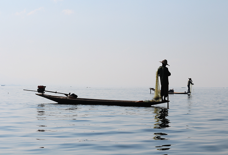 Fishermen of Inle Lake 14