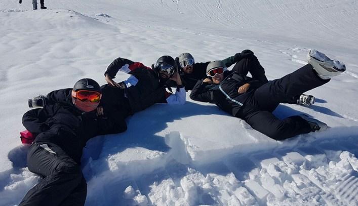 On the slopes at Flaine Resort Crystal Ski Holidays Ski Trip